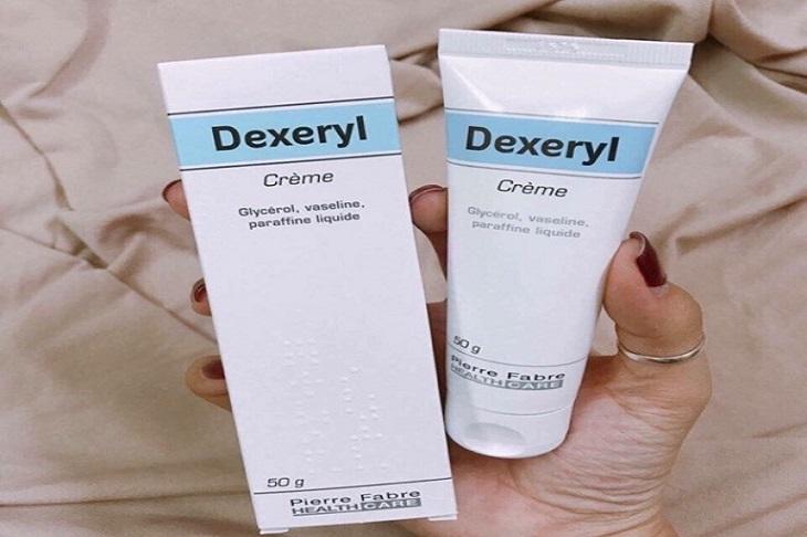 Kem trị chàm sữa cho bé Dexeryl tương đối hiệu quả