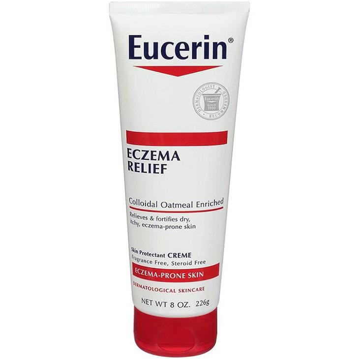 Eucerin Eczema Relief cung cấp chất ẩm cho da bé