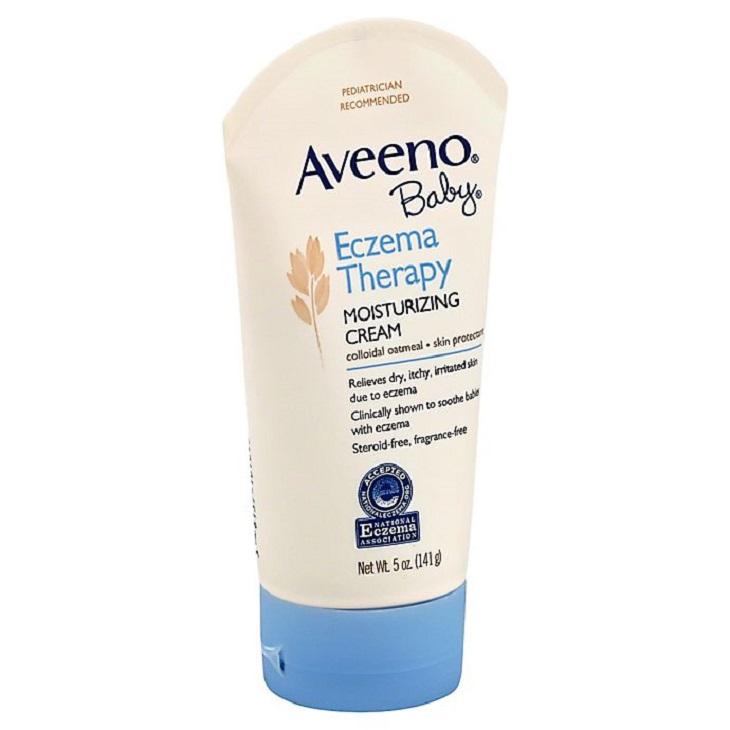 AVEENO® Baby Eczema giảm nhanh những triệu chứng trên da bé