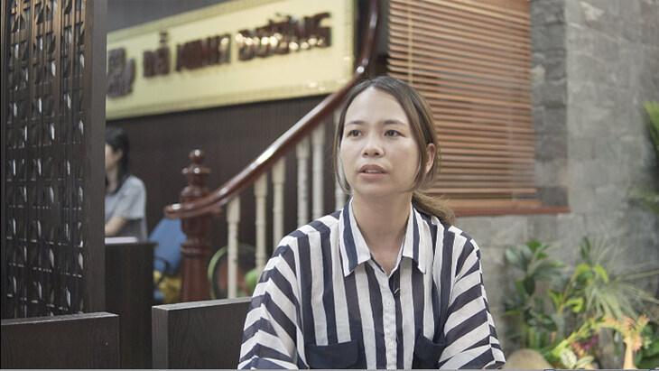 Chị Sâm điều trị suy thận tại nhà thuốc nam Đỗ Minh Đường