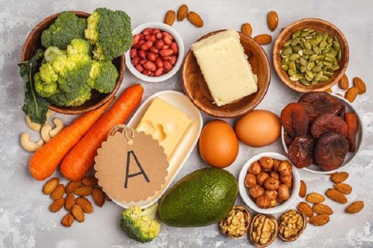 Bổ sung nhiều vitamin A tốt cho người bị sỏi thận