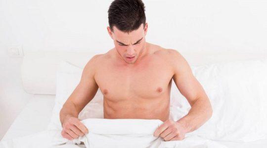 Mộng tinh là tình trạng nam giới xuất tinh dịch trong khi ngủ