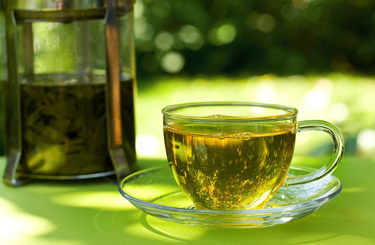 Hợp chất EGCG trong trà xanh có nhiều công dụng tốt