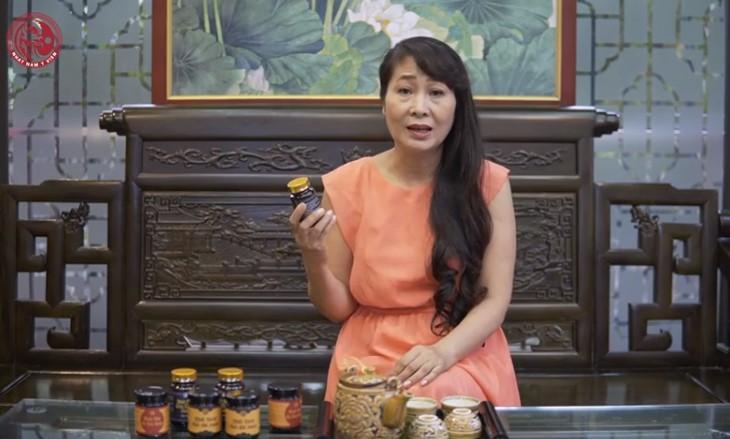 diễn viên thùy liên dùng thuốc Nam Tiêu Thạch Khang trị sỏi mật