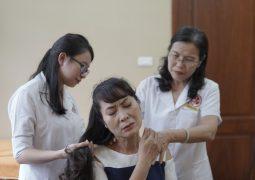 Diễn viên Thùy Liên điều trị đa bệnh tại Nhất Nam Y Viện