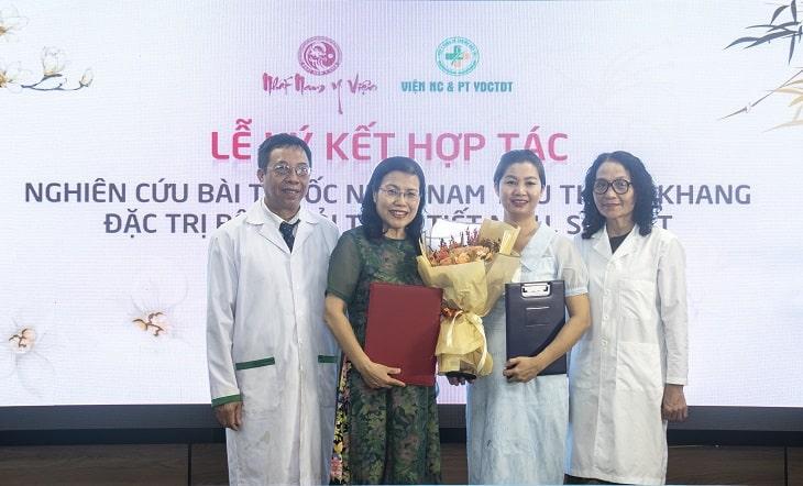 Bài thuốc Nhất Nam Tiêu Thạch Khang đặc trị sỏi thận tiết niệu được nghiên cứu bởi Viện NC & PT Y dược Cổ truyền dân tộc