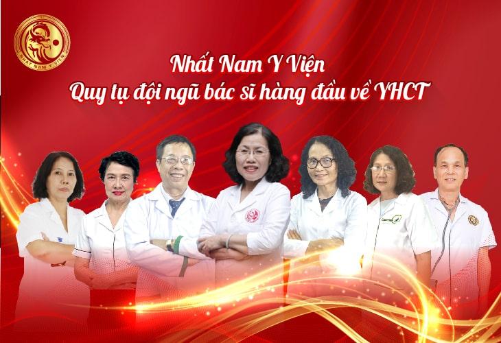 Đơn vị quy tụ những chuyên gia, các y bác sĩ hàng đầu của giới YHCT
