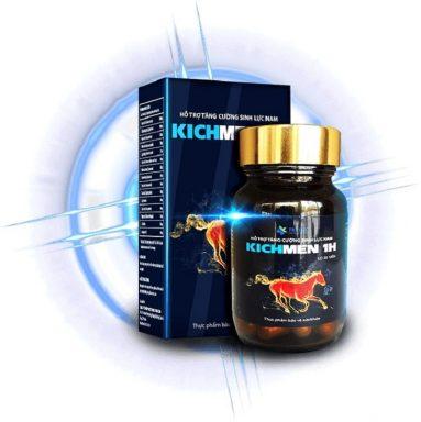 Kichmen 1h là thực phẩm chức năng có khả năng cải thiện các rối loạn sinh lý nam giới