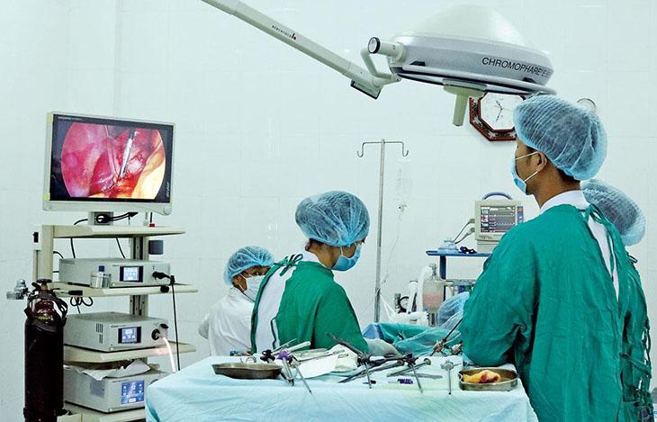 Mổ nội soi sỏi túi mật chỉ diễn ra trong thời gian ngắn