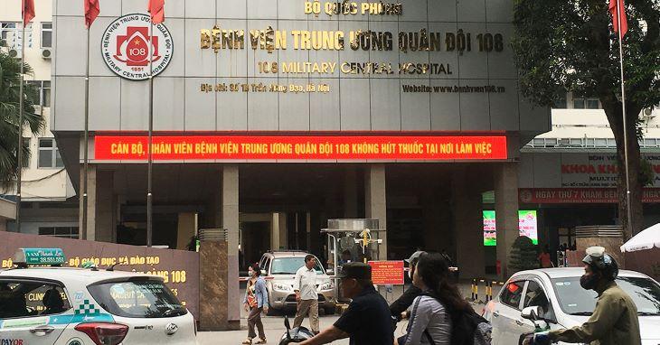 Bệnh viện Trung ương Quân đội 108 là địa chỉ mổ sỏi mật uy tín