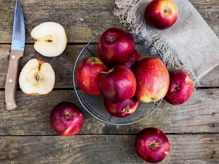 Người bị nang thận nên ăn táo