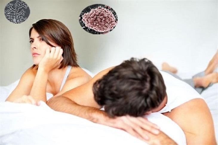 Khi quan hệ trong ngày đèn đỏ có nguy cơ mắc bệnh lây nhiễm qua đường tình dục nhiều hơn