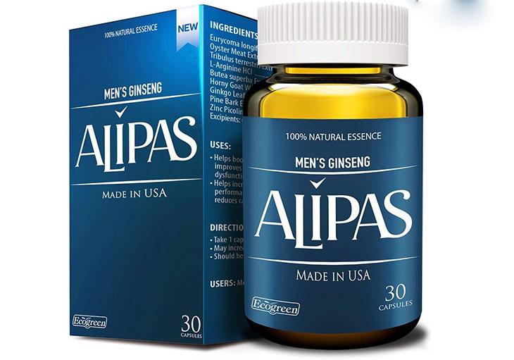 Sâm Alipas giúp tăng cường chức năng thận