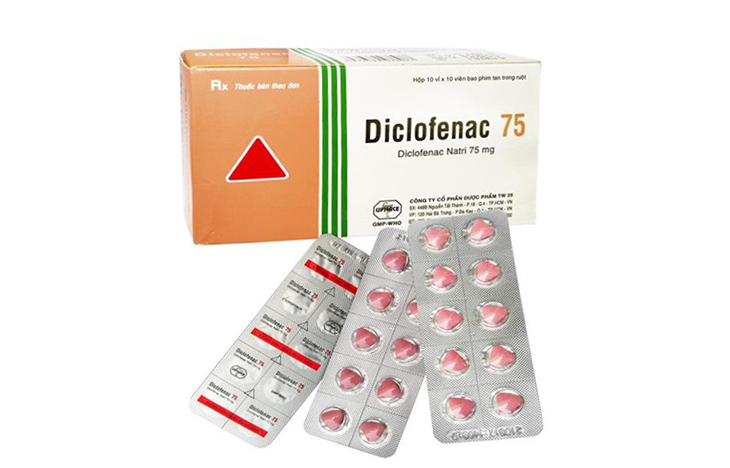 Trên thị trường có nhiều loại thuốc Diclofenac của các hãng khác nhau