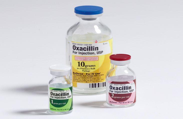 Oxacillin là một trong những loại thuốc kháng sinh thường dùng trong điều trị viêm khớp thái dương hàm