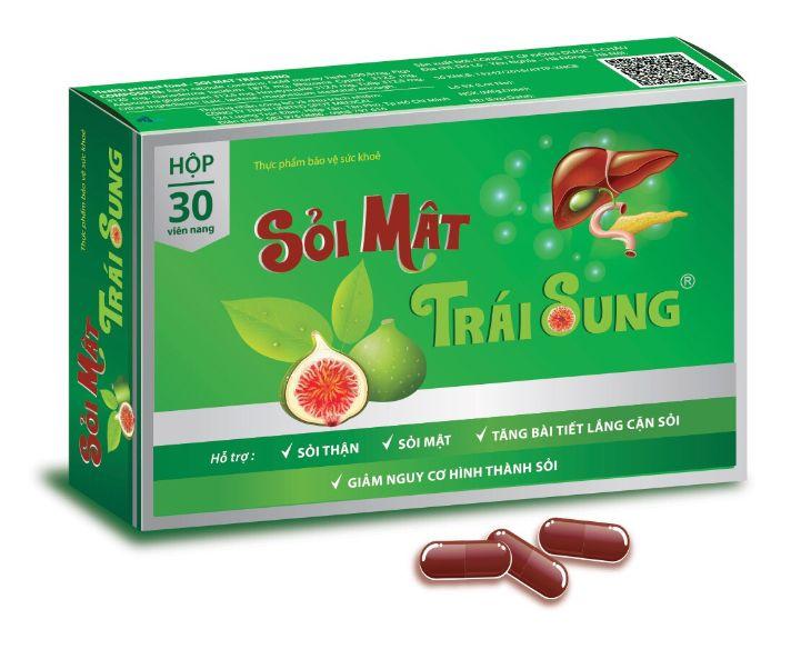 Thuốc sỏi mật trái sung dành cho người bị sỏi mật