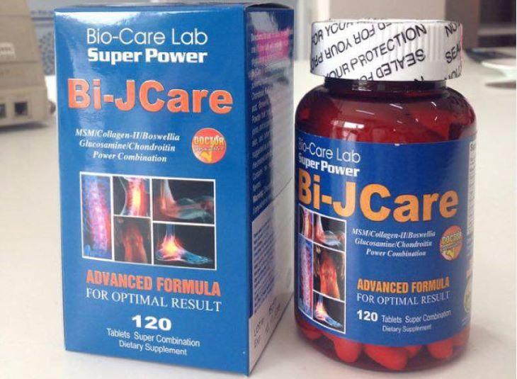 Be- JCare là thuốc trị thoái hóa cột sống nổi tiếng của Mỹ