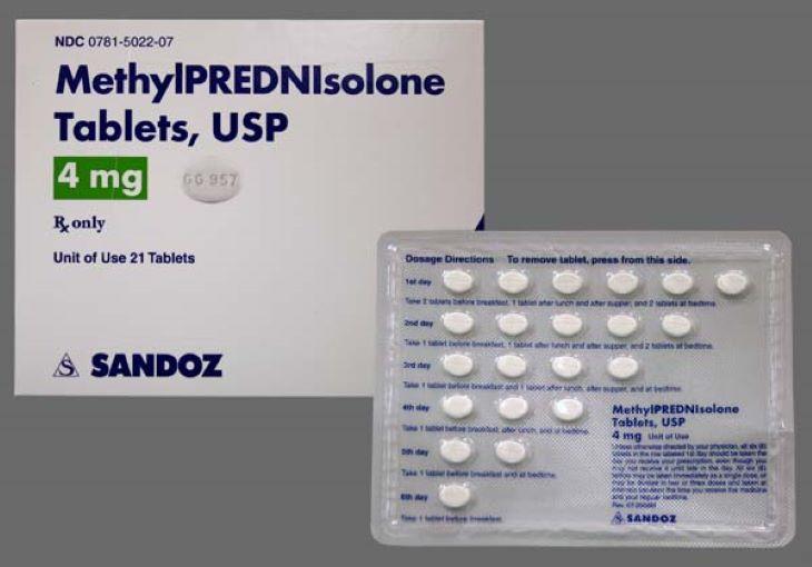 Các bác sĩ có thể cân nhắc và chỉ định cho người bệnh Methylprednisolone