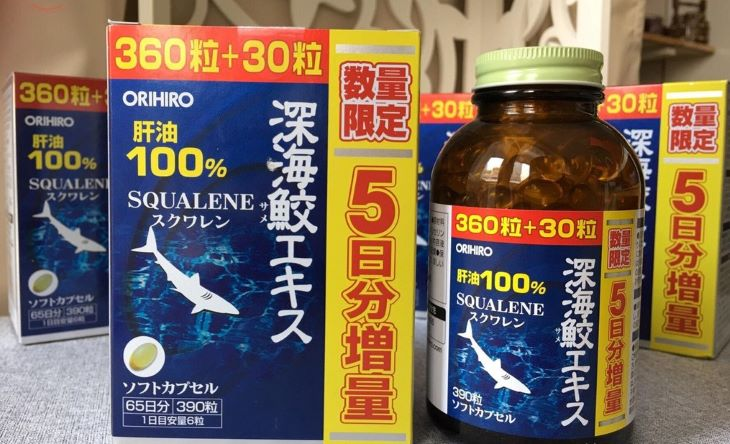 Hình ảnh thuốc Orihiro Squalene