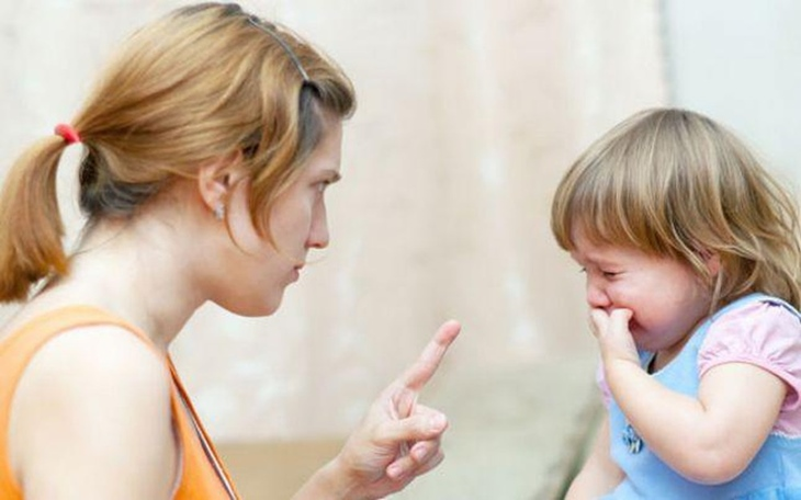 La mắng bé có thể khiến tình trạng trở nên trầm trọng hơn
