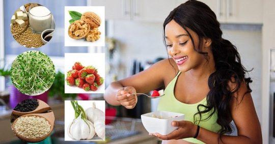 Tránh thai tự nhiên bằng món ăn