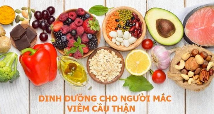 Chế độ dinh dưỡng cho người viêm cầu thận IgA