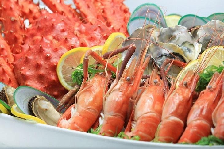 Kiêng hải sản là điều cần nhớ nhất