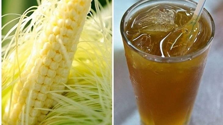 Nấu nước râu ngô uống giúp lợi tiểu