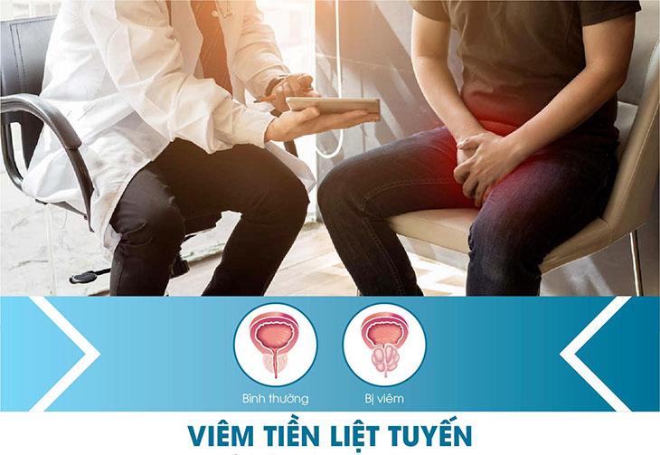 Viêm tuyến tiền liệt ảnh hưởng rất nhiều đến sức khỏe sinh sản nam giới