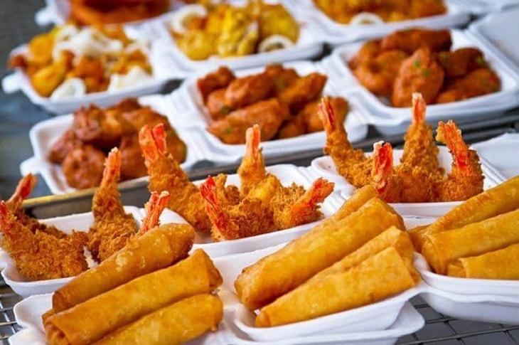 Các món ăn nhiều dầu mỡ là nguyên nhân gây nên phì đại tiền liệt tuyến