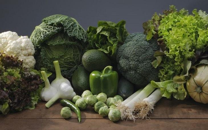 Rau xanh rất tốt cho sức khỏe của người bệnh