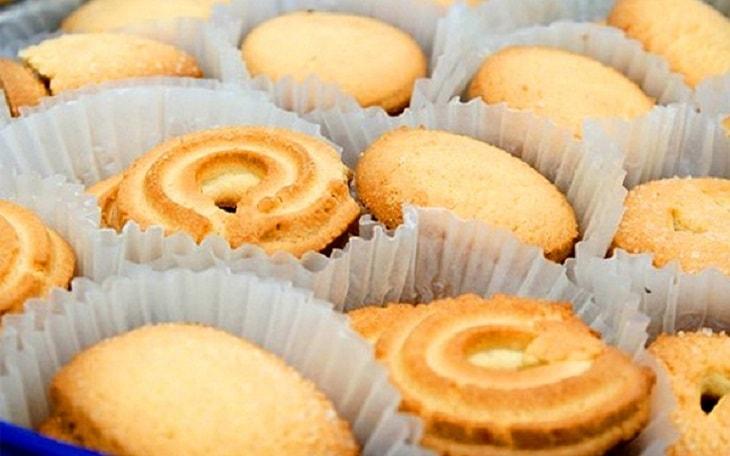 Các loại bánh làm từ tinh bột tinh chế người suy thượng thận cần hạn chế