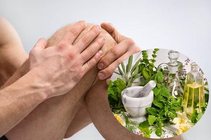 Nhiều bài thuốc chữa đau khớp gối trong dân gian đã đạt được hiệu quả cao