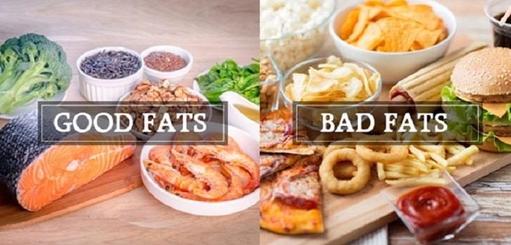 Tránh xa chất béo không lành mạnh