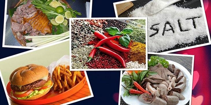 Hạn chế một số đồ ăn nhanh, dầu mỡ