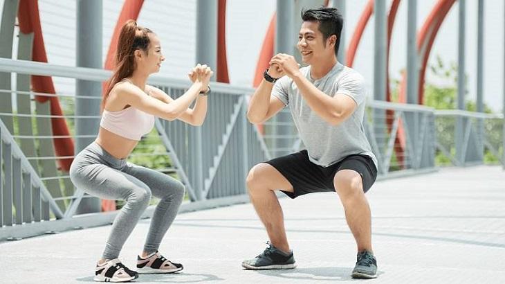 Tập gym giúp hỗ trợ làm giảm tình trạng thoái hóa khớp gối