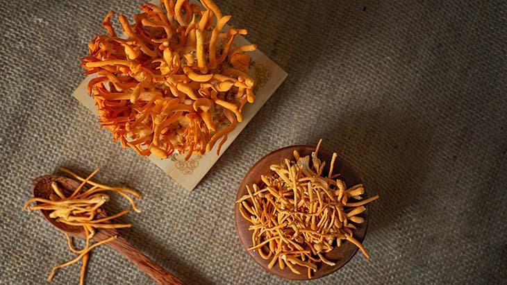 Việc ăn đông trùng hạ thảo sống giúp tận dụng được hầu hết các dưỡng chất tốt trong thực phẩm