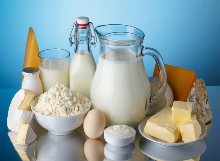 Sữa và những chế phẩm từ sữa không nên sử dụng