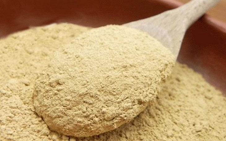 Cây từ bi kết hợp cám gạo