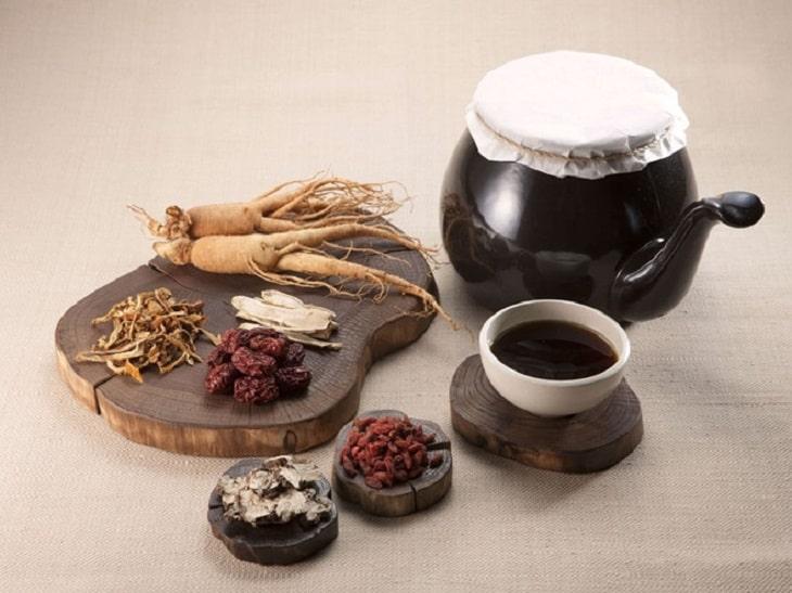 Các thành phần là vị thuốc nổi tiếng trong Đông y