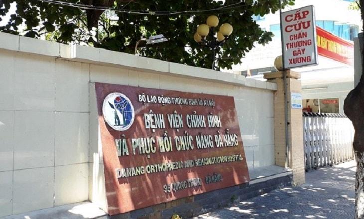 Tại Đà Nẵng, người bệnh có thể tìm đền Bệnh viện Chỉnh Hình & Phục Hồi Chức Năng