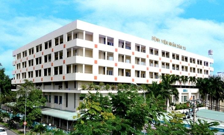 Tại bệnh viện Nhân Dân 115 người bệnh có thể điều trị tại khoa Cơ xương khớp