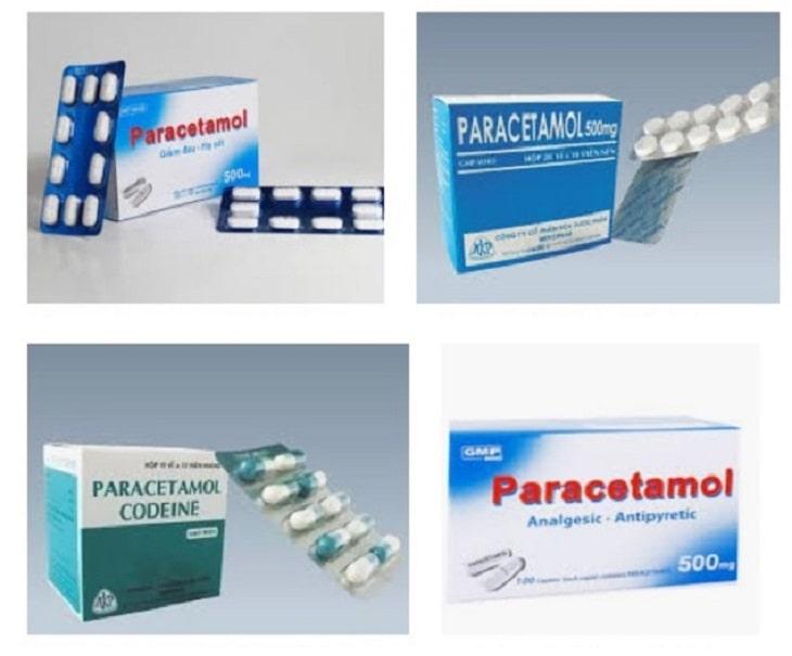 Paracetamol là sự lựa chọn đầu tiên