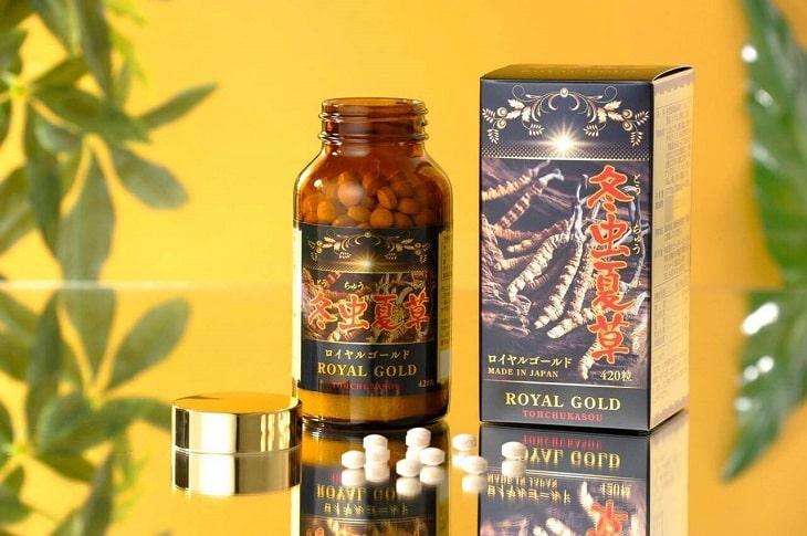 Viên uống trùng thảo Tohchukasou Royal Gold