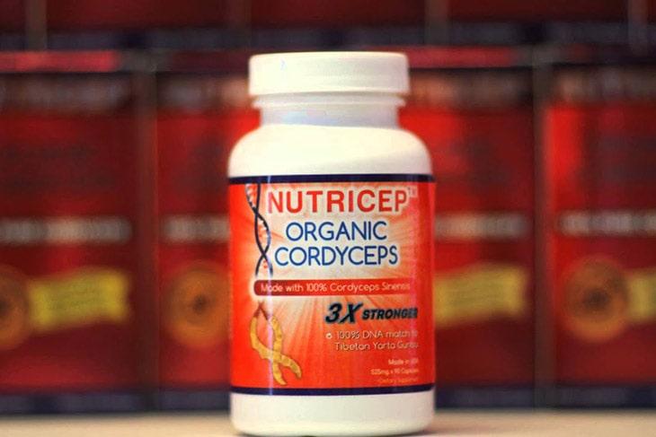 Nutricep Organic Cordyceps - đông trùng hạ thảo dạng viên