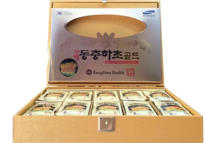 Nước đông trùng hạ thảo gói Kanghwa