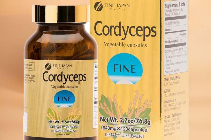 Sản phẩm Fine Cordyceps được nhiều người dùng