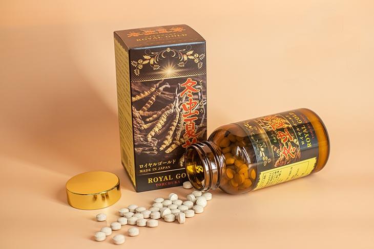 Viên uống Tohchukasou Royal Gold