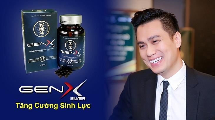 Diễn viên Việt Anh cảm thấy rất hài lòng sau thời gian dài sử dụng viên uống Gen X