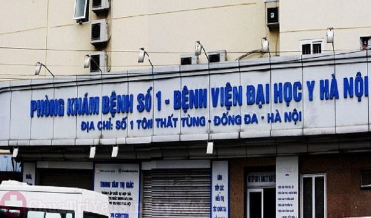 Bệnh viện Đại học Y Hà Nội được điều hành bởi các bác sĩ chuyên khoa đầu ngành